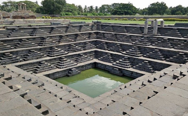 Hampi Stepwell in Karnataka