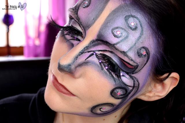 Make up für einen feenhaften Look