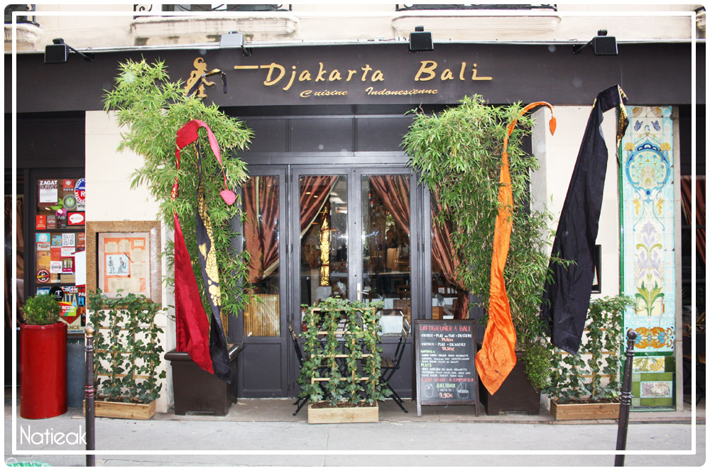 Djakarta Bali  Restaurant Indonésien à Paris