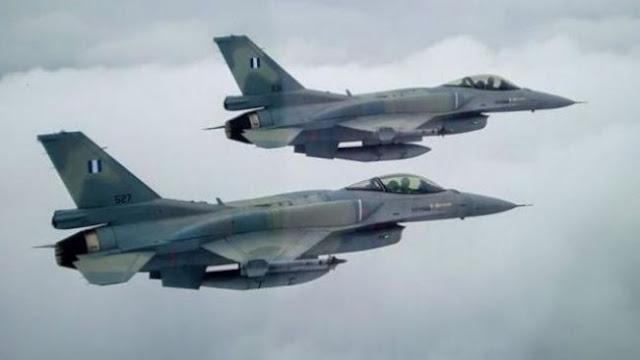 Ψευδοκράτος: «Παραβίαση εναέριου χώρου από ελληνικά F-16»