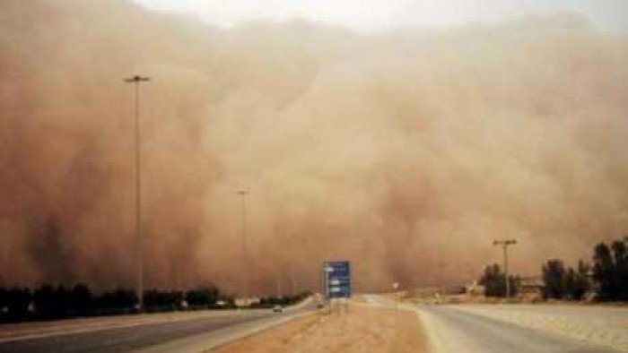 الأرصاد تحذر المواطنين غدا رياح وأتربة على هذه المناطق تصل لحد العاصفة