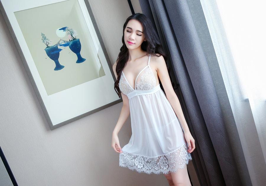 Đầm ngủ hở lưng quyến rũ sexy 8