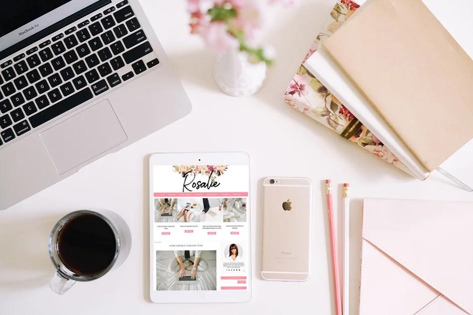 Slide para blog modelo Rosalie- ideal para exibir posts de uma categoria pré-definida