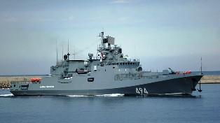 Las naves han tomado posiciones frente a la costa occidental de Crimea y podrían pasar en breve al estado de alerta, según una fuente militar rusa.