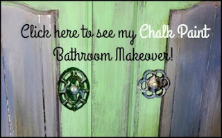 Click here to see my Chalk Paint Bathroom Makeover
