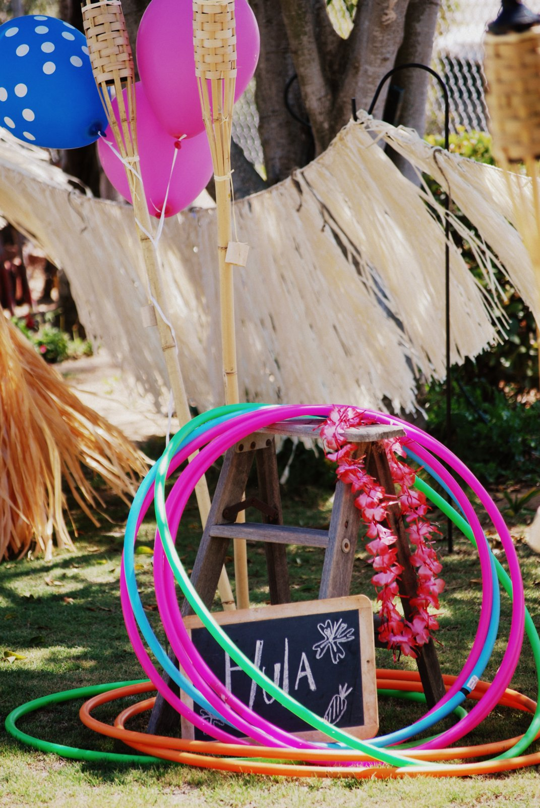 Tattered Threads Amp Willing Hands A Luau For A Nine Year