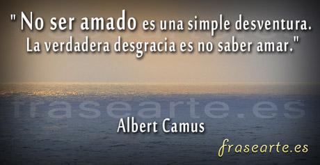 Frases de amor y desamor de Albert Camus