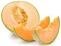 gambar buah melon oranye
