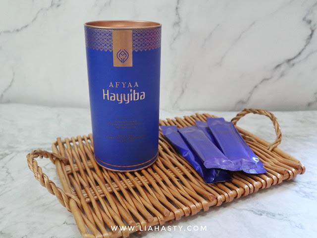 Produk kesihatan AFYAA Hayyiba untuk kekal bertenaga sepanjang hari & membantu masalah kencing manis