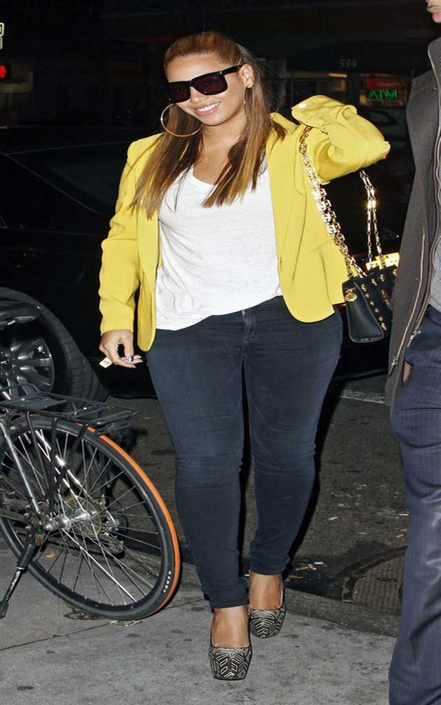 Fashionjewellery Beyonce Knowles Skinny Jeans
