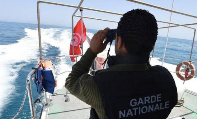 المهدية : إحباط عملية اجتياز للحدود البحرية خلسة