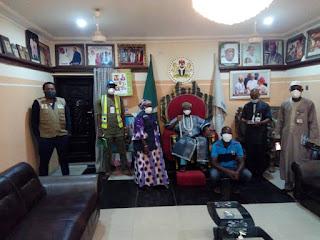 NCDC Team visit to the Eze ndi Igbo in Kano State.