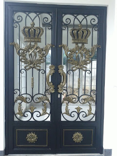 pintu besi tempa, pintu head besi tempa, pintu double besi tempa (2)