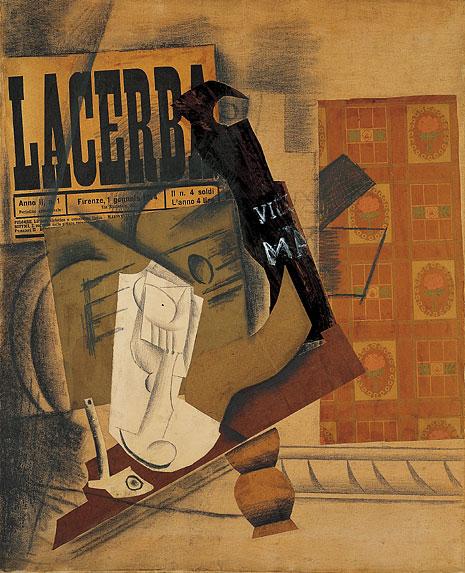 Pinturas Surrealistas Cubistas Simbolistas Y Expresionistas Pipa Vaso Botella De Vieux Marc Pablo Picasso