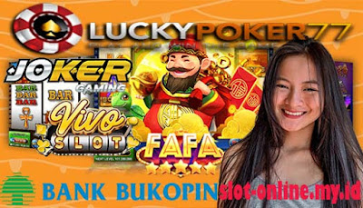 Daftar Slot Online Pakai Bank Bukopin Deposit 25.000 / 25rb / 25 ribu
