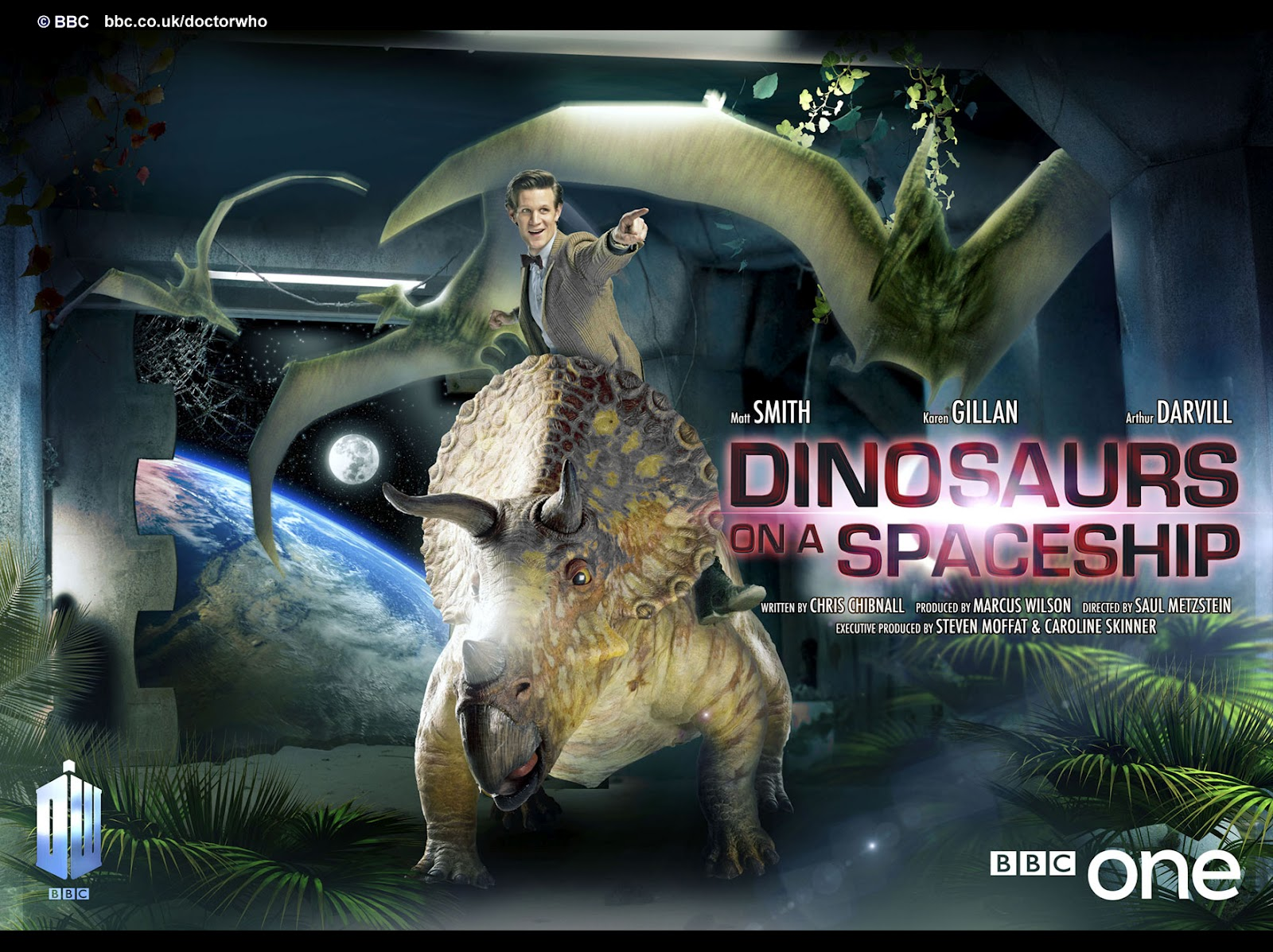 The Rued Morgue: Doctor Who: Dinosaurs on a Spaceship