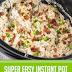 Super Easy Instant Pot Crack Chicken #instantpot #crackchicken