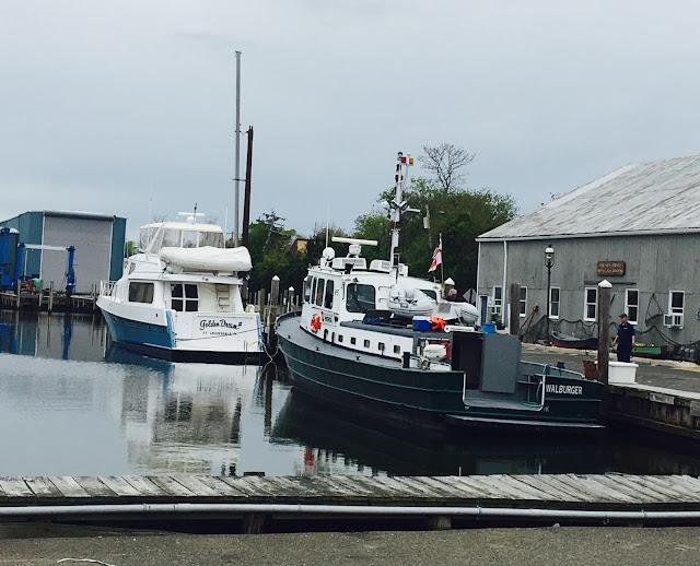 Launch 5 at Johnson Brothers Boat Yard