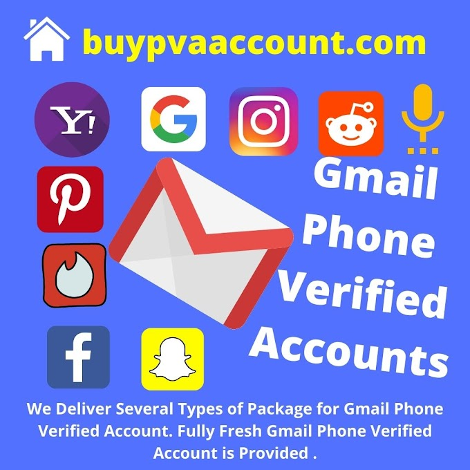 Best Gmail Phone Verified Accounts Packages