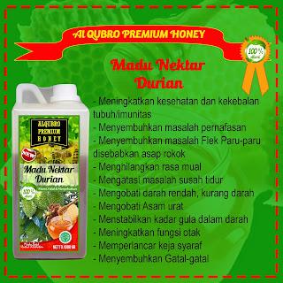Jual Madu Al Qubro Premium Durian | Pusat Madu Al Qubro