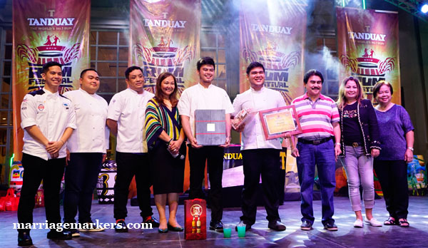 Tanduay Rum Festival in Bacolod - Anne Bistro - Chef Dan Altarejos - Culinaria cooking with rum - Mayor Bing Leonardia