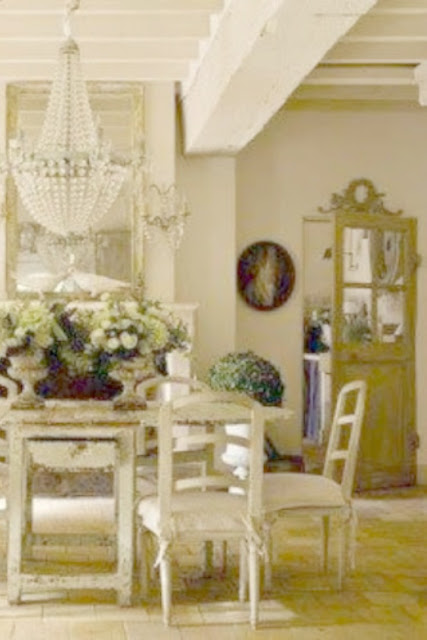 Breathtaking French Country dining room by Pamela Pierce on Hello Lovely Studio