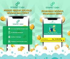 dompet cash pinjaman online beranak