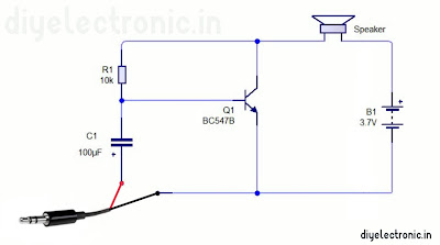 How to make amplifier using BC547 transistor