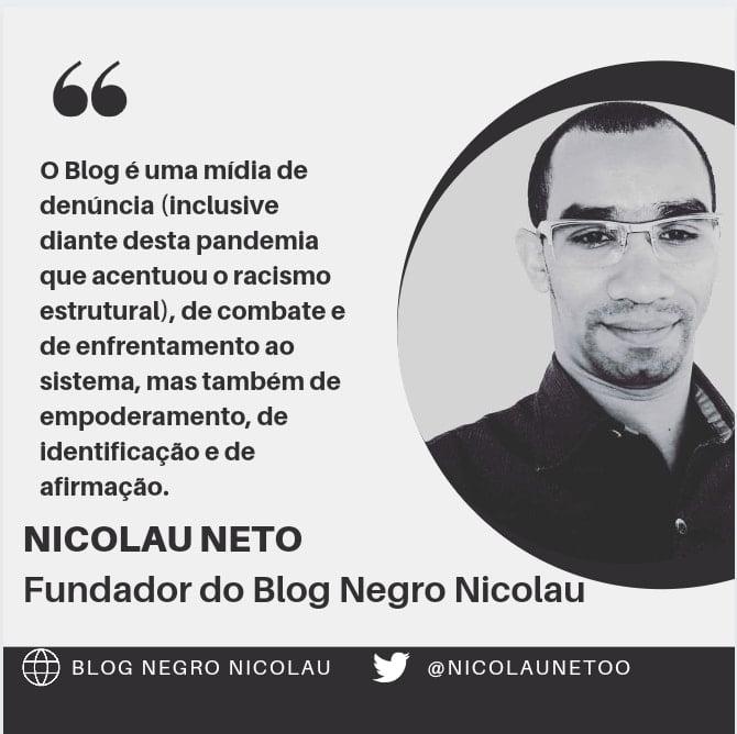 Blog Negro Nicolau reúne frases de colunistas, colaboradoras e de parlamentares de Altaneira em sua homenagem de 10 anos