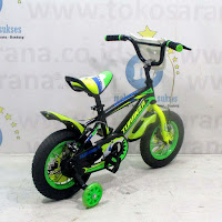 12 turanza bmx sepeda anak ban gendut