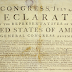 Declaration of Independence embodies what it means to be an American, and everything we hold dear