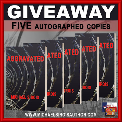 Aggravated tour giveaway graphic. Prizes to be awarded precede this image in the post text.