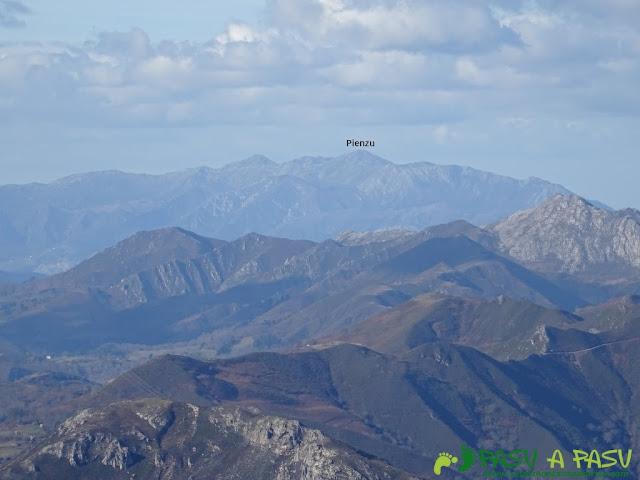 Sierra de Juan Robre: Vista del Sueve