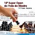 Xadrez: EMEB Juscelino Kubitschek realiza 2ª etapa do Super Open neste domingo, 01/10