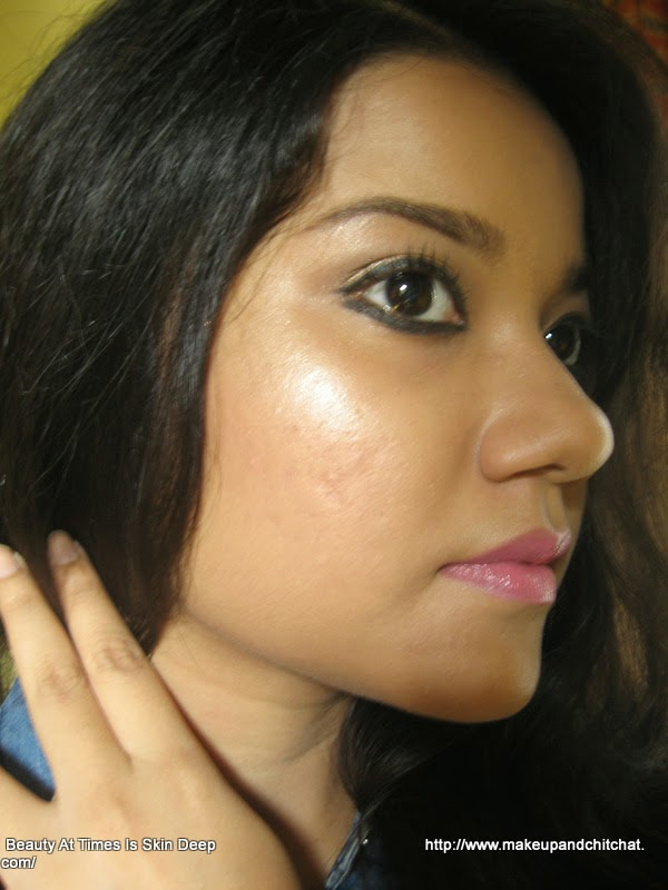 LOTD with Isadora Cosmetics Color Correcting Wheel Anti Redness Highlighter Nivedita