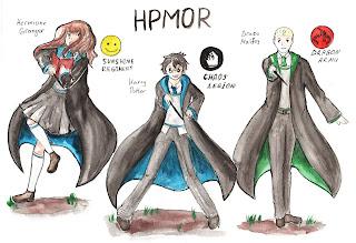 hermione harry draco