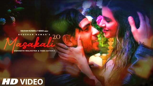 Masakali 2.0 Lyrics | A R Rahman | Sidharth Malhotra