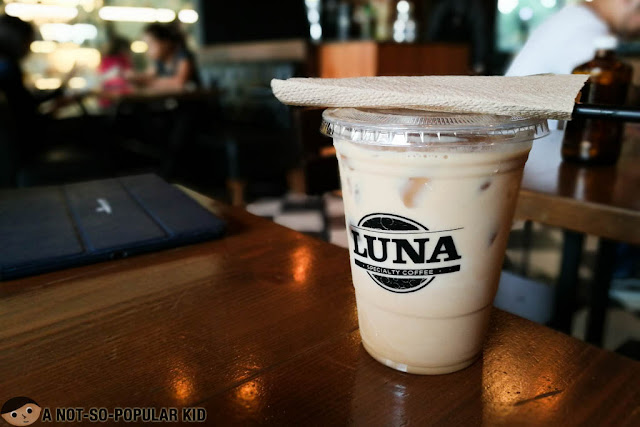 Muscovado Latte of Luna Cafe