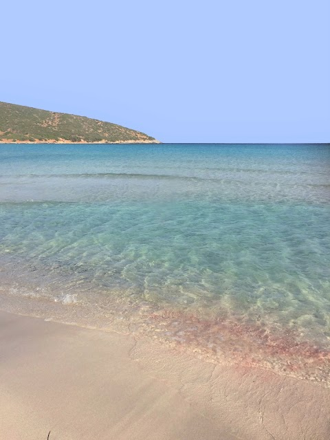 La spiaggia rosa di Cala Zafferano in Sardegna