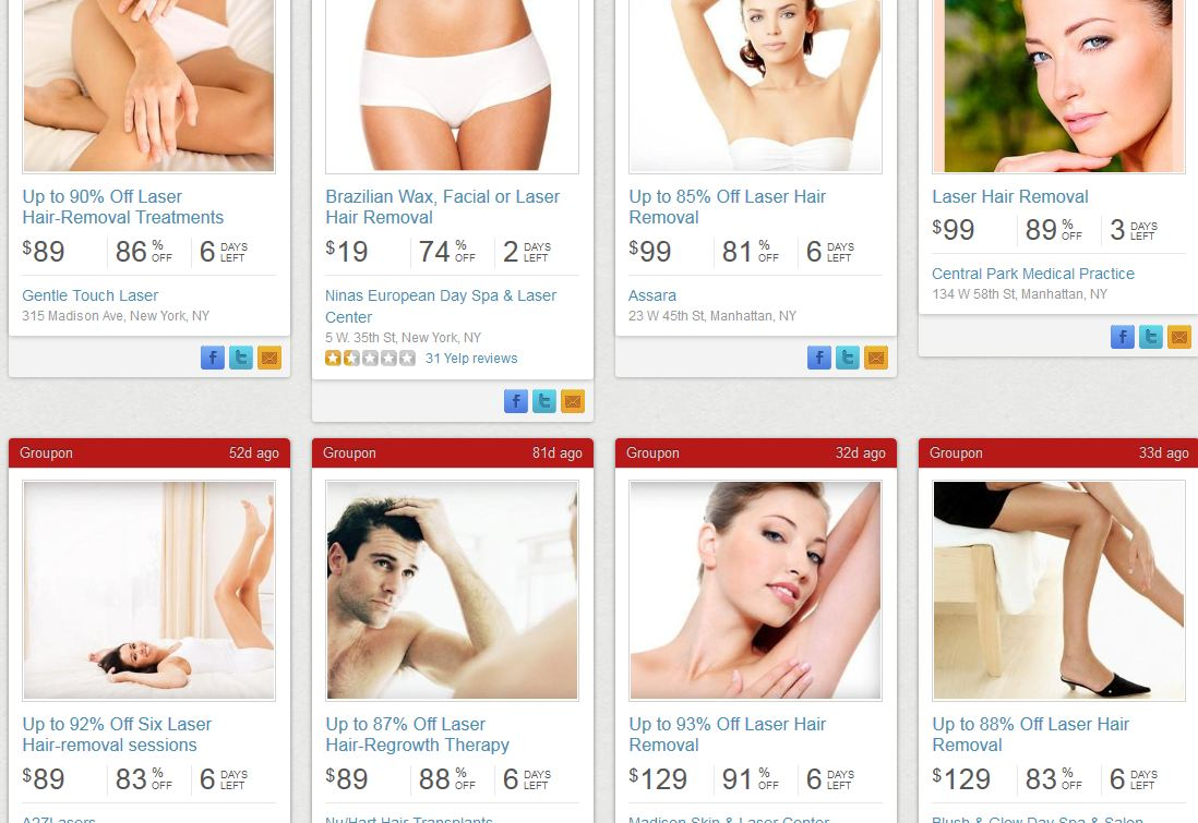Alternaluxe How To Choose A Laser Hair Removal Package On Groupon