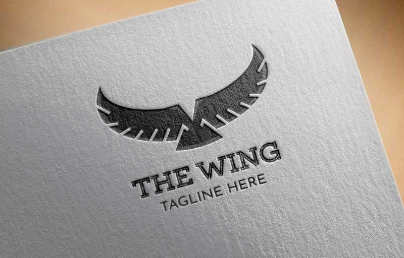 Download Free The Wings Logo for Business