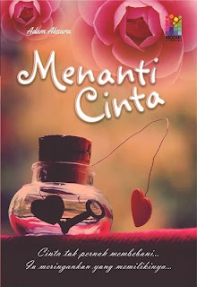 novel menanti cinta penulis adam aksara