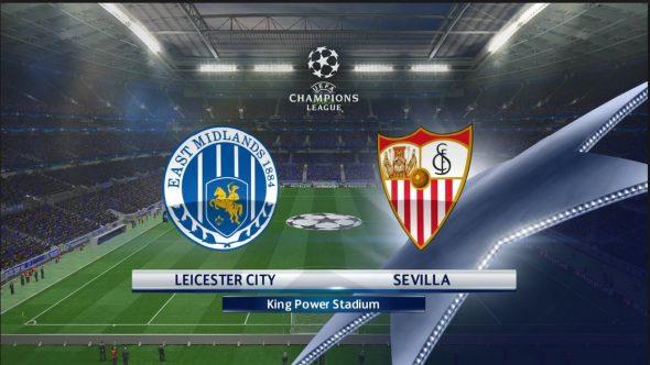 نتيجة مباراة ليستر سيتي وإشبيلية 2-0 اليوم 14-3-2017 في بطولة دوري أبطال أوروبا