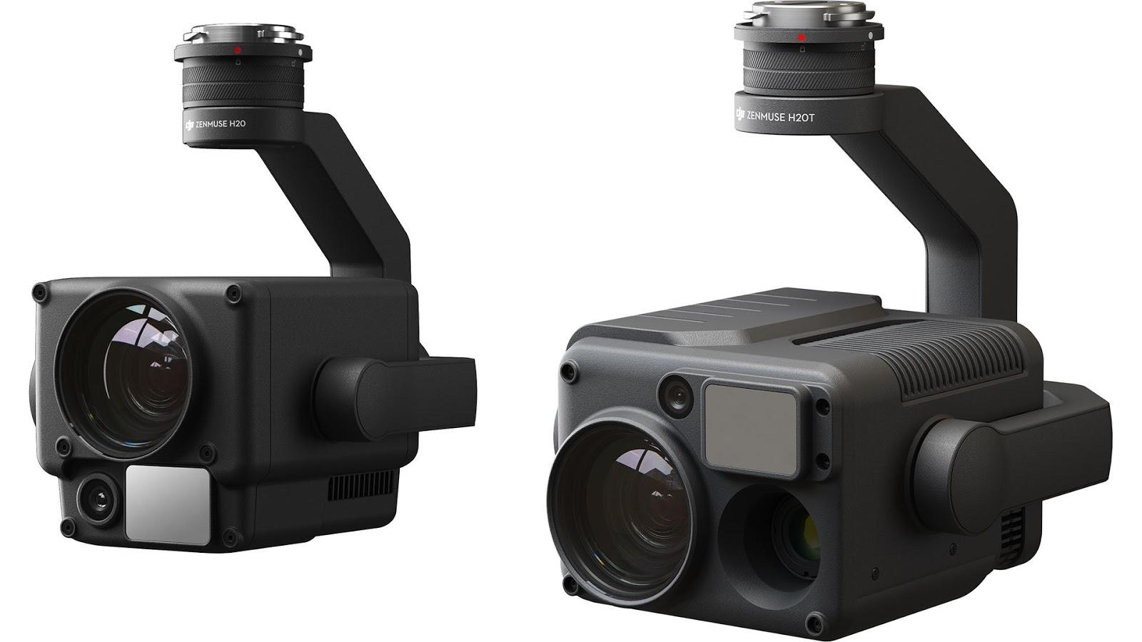 Камеры DJI Zenmuse H20 и H20T