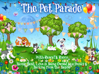 The Pet Parade cartoon logo