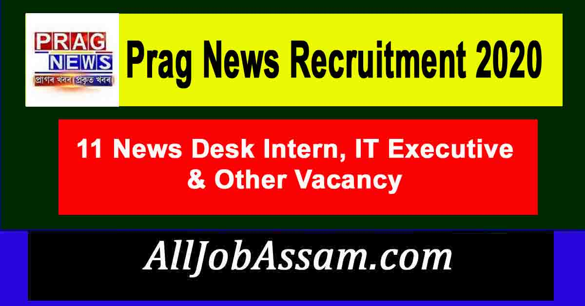 Prag News Recruitment 2020