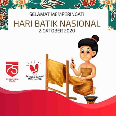hari batik nasional 2 oktober 2020