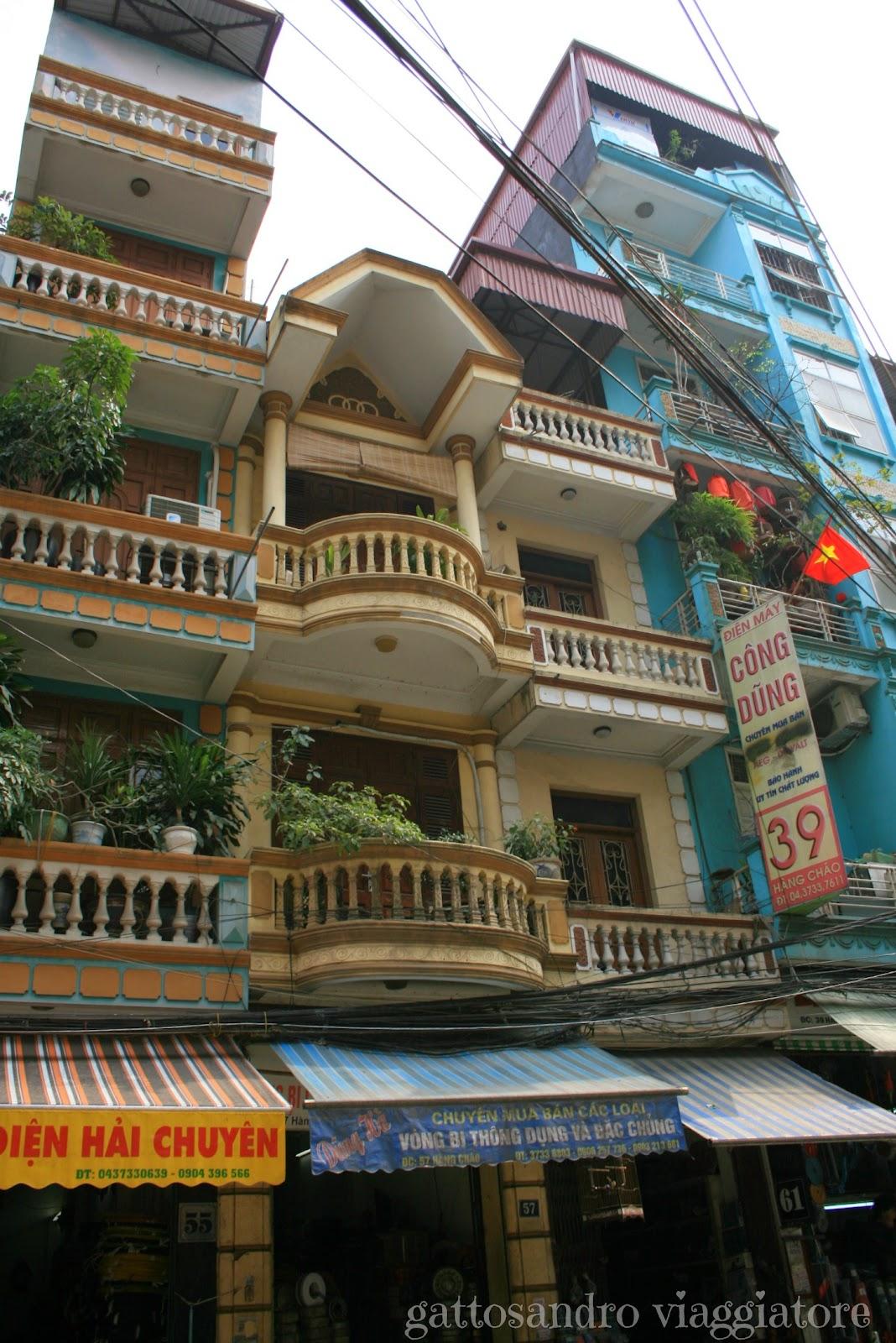 Le case di Hanoi