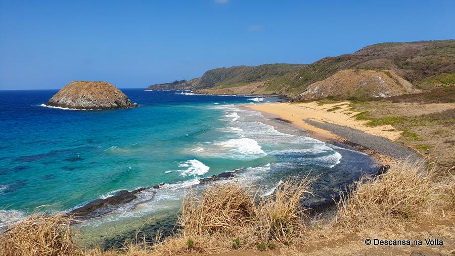 Praias do mar de fora Noronha