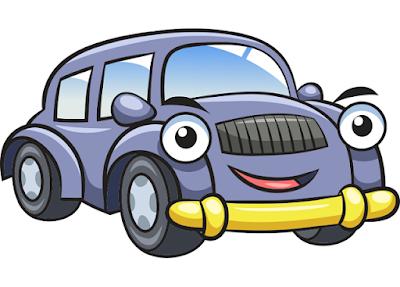 Gambar mobil kartun untuk anak tk